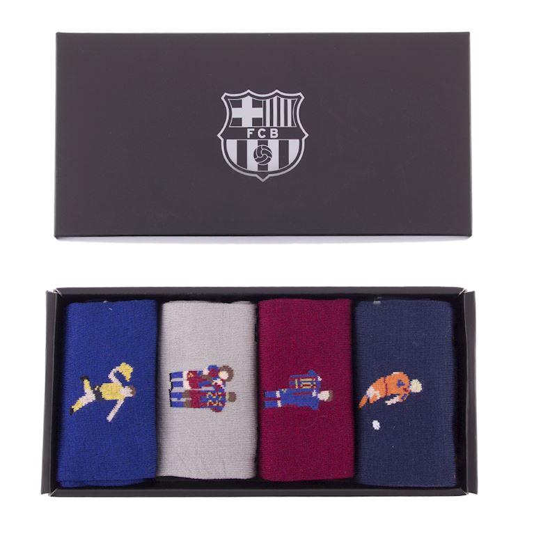 5148 | FC Barcelona Chaussettes Décontracté Set | 1 | COPA