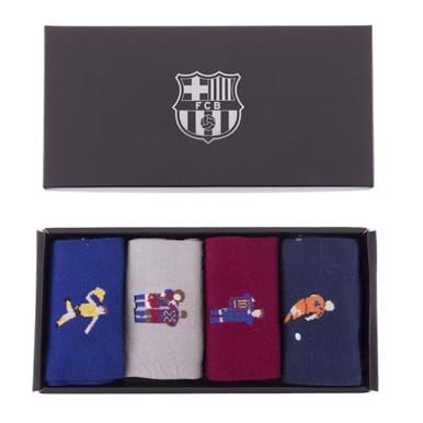 5148 | FC Barcelona Casual Socks Box Set | 1 | COPA