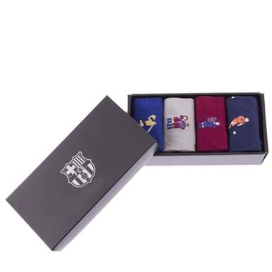 5148 | FC Barcelona Casual Socks Box Set | 2 | COPA