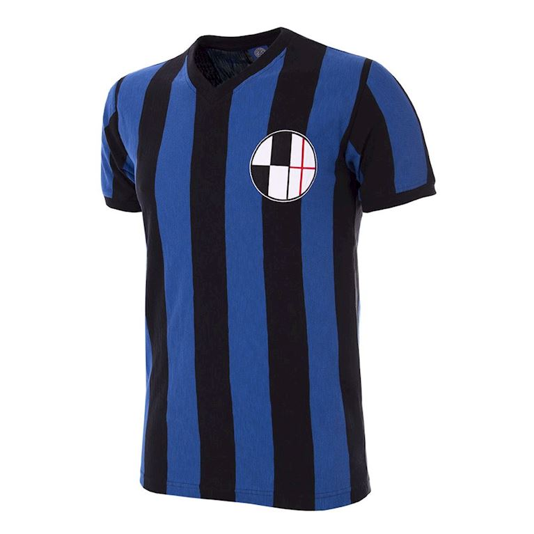735 | FC Internazionale 1929 - 30 Short Sleeve Retro Football Shirt | 1 | COPA