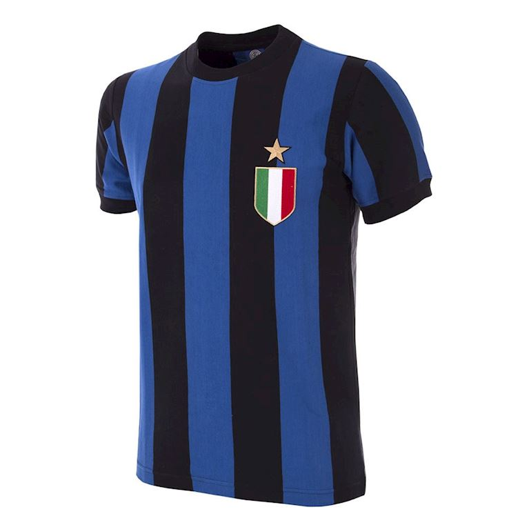 734 | FC Internazionale 1966 - 67 Short Sleeve Retro Football Shirt | 1 | COPA