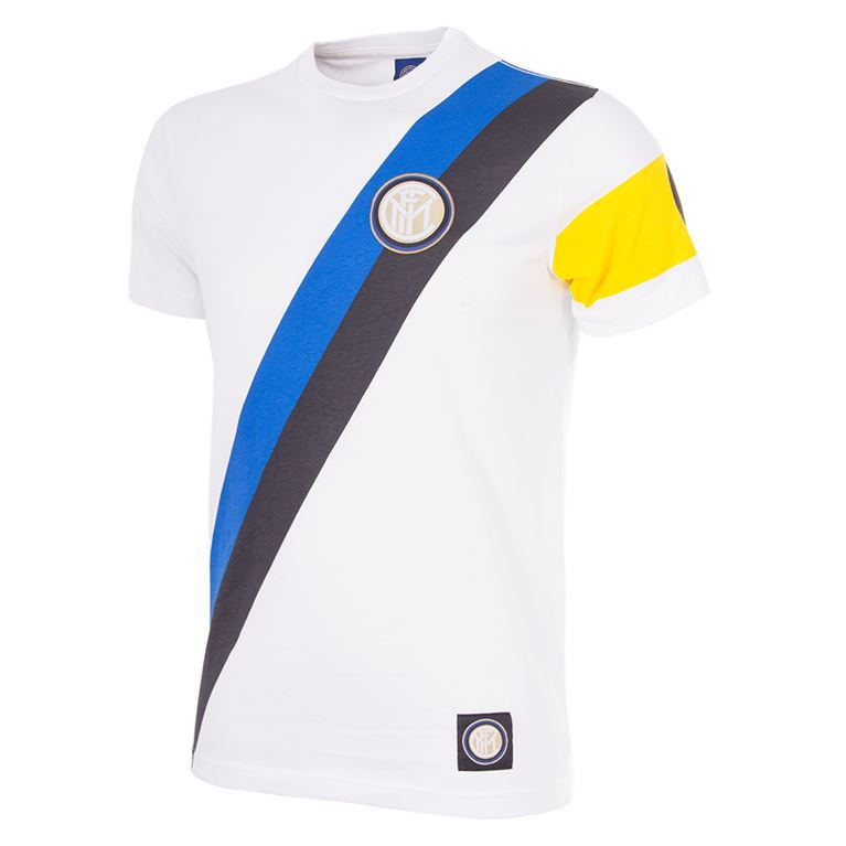 6724 | F.C. Internazionale Away Captain T-Shirt | White | 1 | COPA