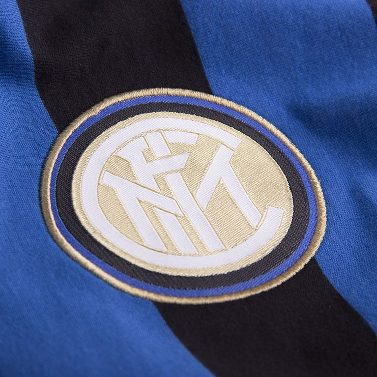 6722 | FC Internazionale Captain T-Shirt | Black - Blue | 2 | COPA