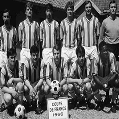 174 | FC Nantes 1965 - 66 Retro Voetbal Shirt | 2 | COPA