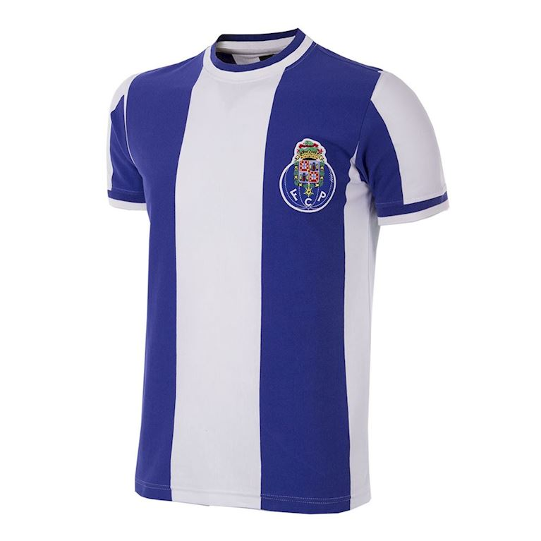 125 | FC Porto 1971 - 72 Short Sleeve Retro Football Shirt | 1 | COPA