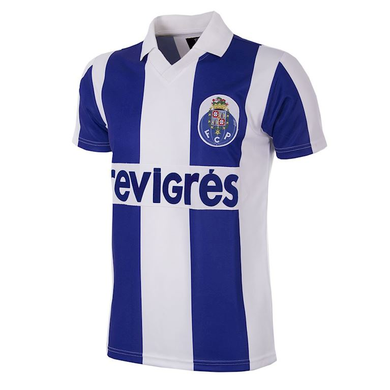 127 | FC Porto 1986 - 87 Short Sleeve Retro Football Shirt | 1 | COPA