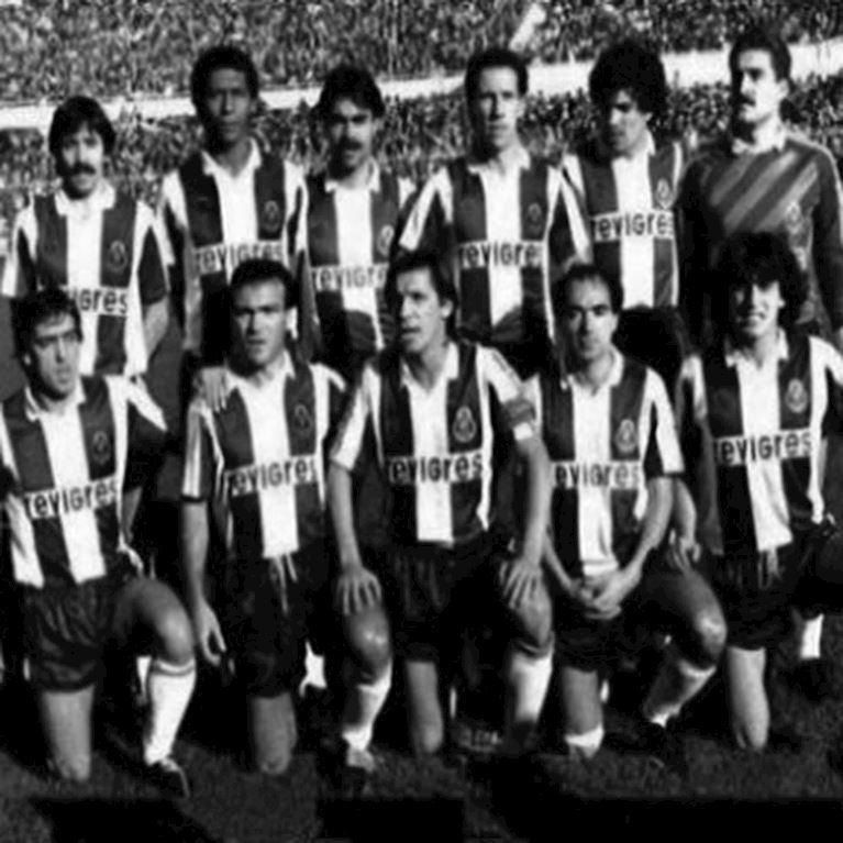 127 | FC Porto 1986 - 87 Retro Voetbal Shirt | 2 | COPA