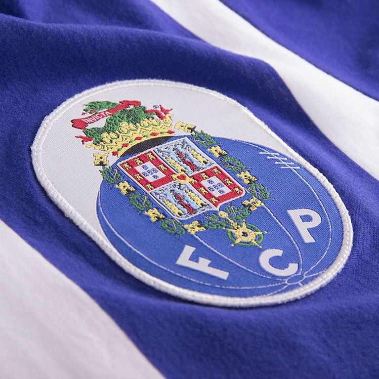 6743 | FC Porto Retro T-Shirt | White - Blue | 2 | COPA