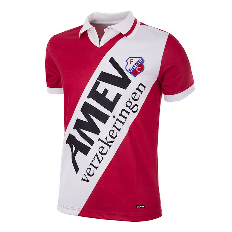 143 | FC Utrecht 1993 - 94 Short Sleeve Retro Football Shirt | 1 | COPA