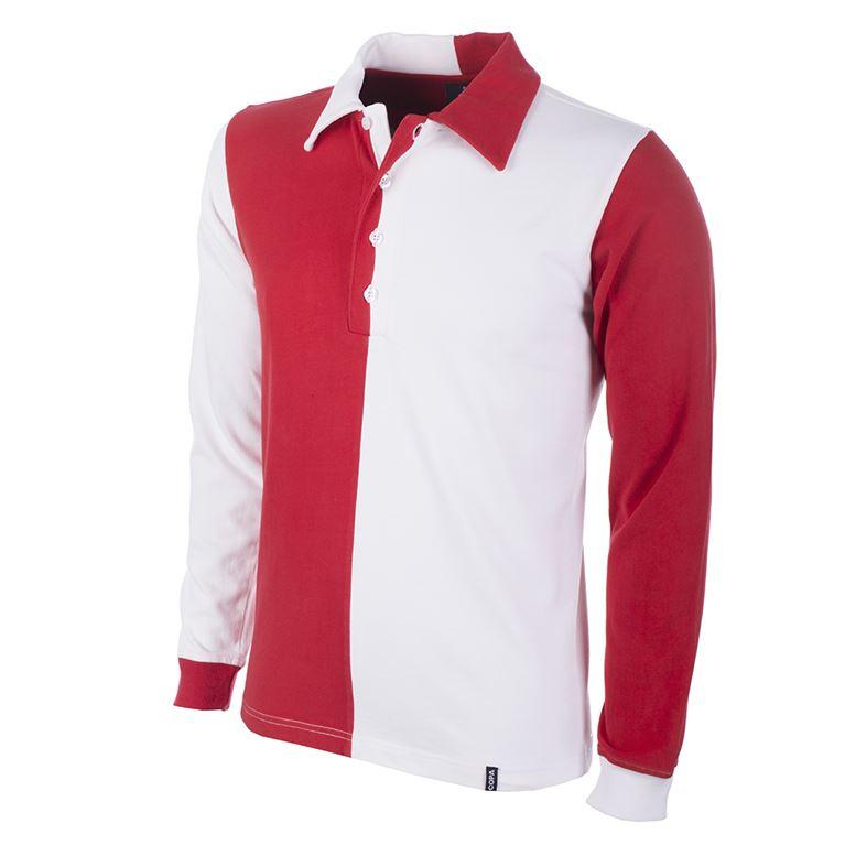 1243 | Feyenoord 1912 Long Sleeve Retro Football Shirt | 1 | COPA
