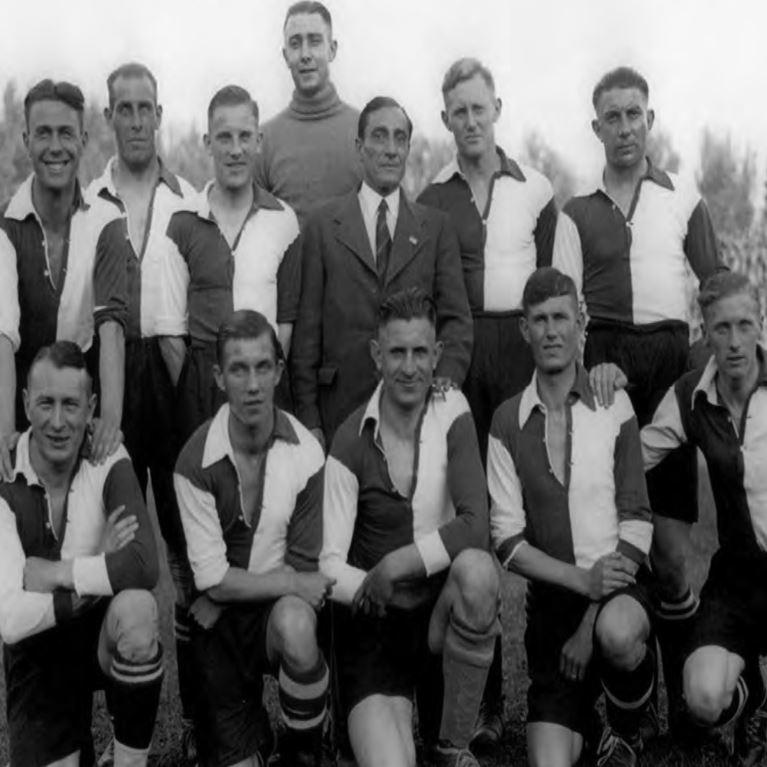 1243 | Feyenoord 1912 Long Sleeve Retro Football Shirt | 2 | COPA