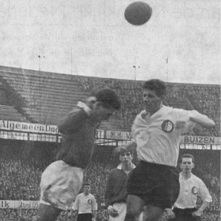 1251 | Feyenoord 1958/60 Short Sleeve Retro Football Shirt | 2 | COPA