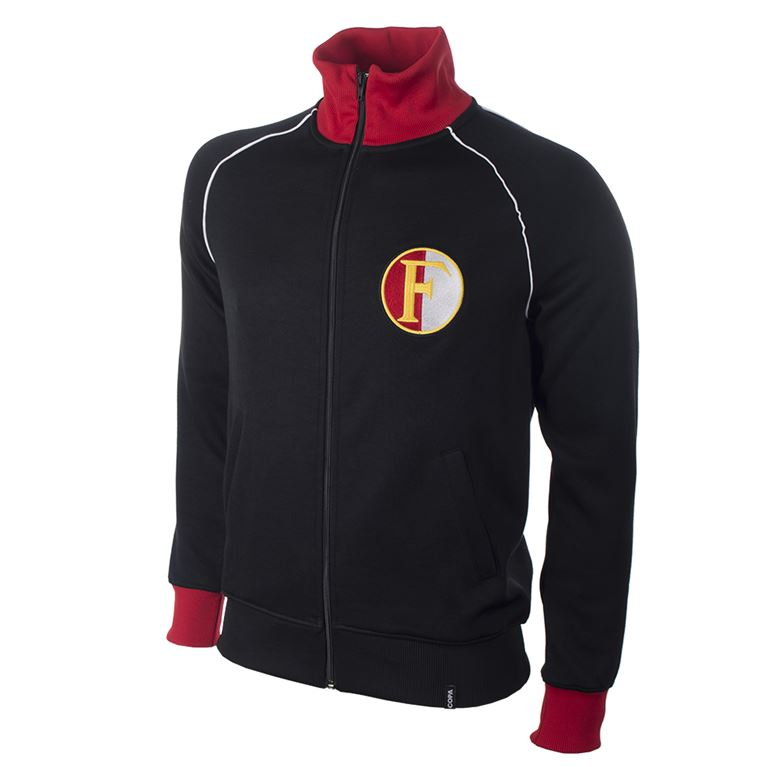 1245 | Feyenoord 1960's Retro Football Jacket | 1 | COPA