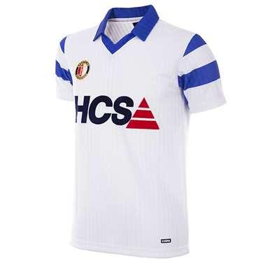 1256 | Feyenoord 1990 - 91 Away Retro Shirt | 1 | COPA