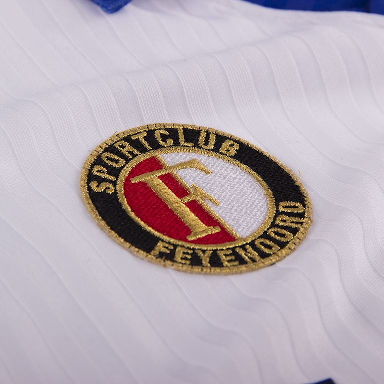 1256 | Feyenoord 1990 - 91 Away Short Sleeve Retro Shirt | 2 | COPA