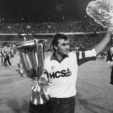 1256 | Feyenoord 1990 - 91 Away Retro Shirt | 2 | COPA