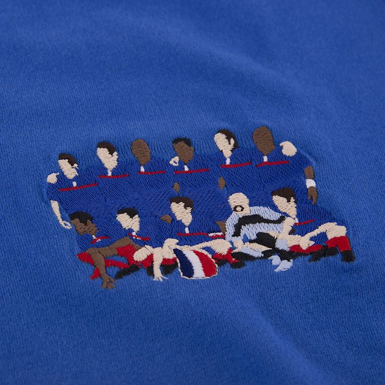 6982 | France 2000 European Champions embroidery T-Shirt | 2 | COPA