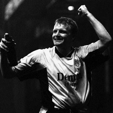 265   Fulham FC 1998 - 99 Away Retro Football Shirt   2   COPA