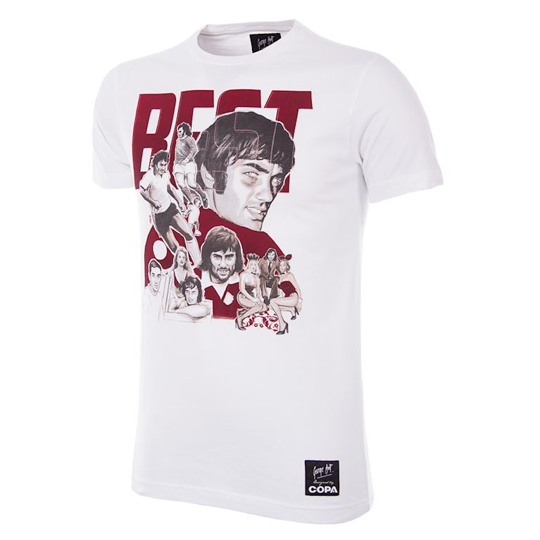 6766 | George Best Collage T-Shirt | 1 | COPA