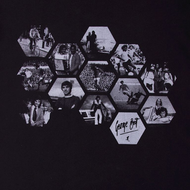 6767 | George Best Hexagon T-Shirt | 2 | COPA