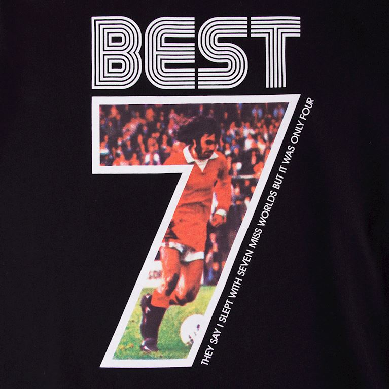 6774 | George Best Miss World T-Shirt | 2 | COPA