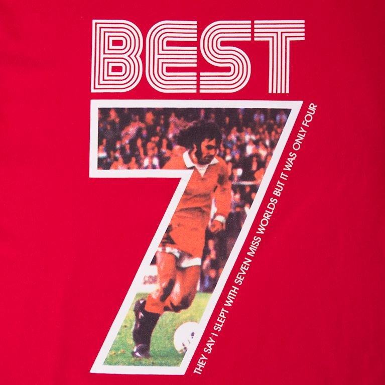6753 | George Best Miss World T-Shirt | 2 | COPA