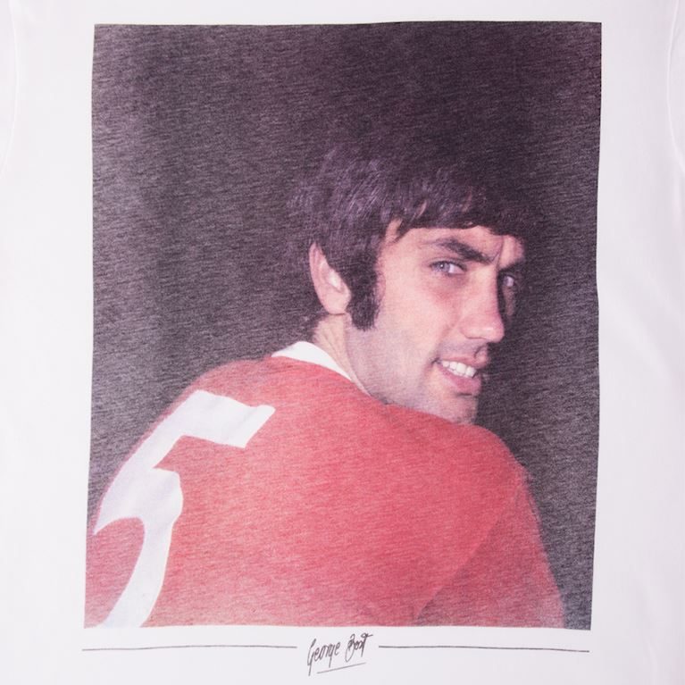 6768 | George Best Old Trafford T-Shirt | 2 | COPA