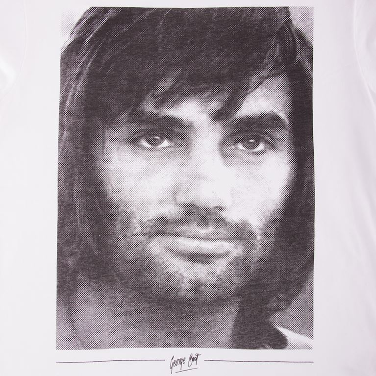 6756 | George Best Portrait T-Shirt | 2 | COPA