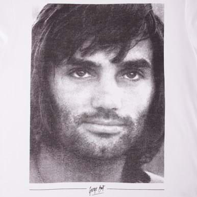 6756 | George Best Portrait T-Shirt | 2 | COPA