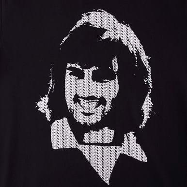 6773   George Best Repeat Logo T-Shirt   2   COPA