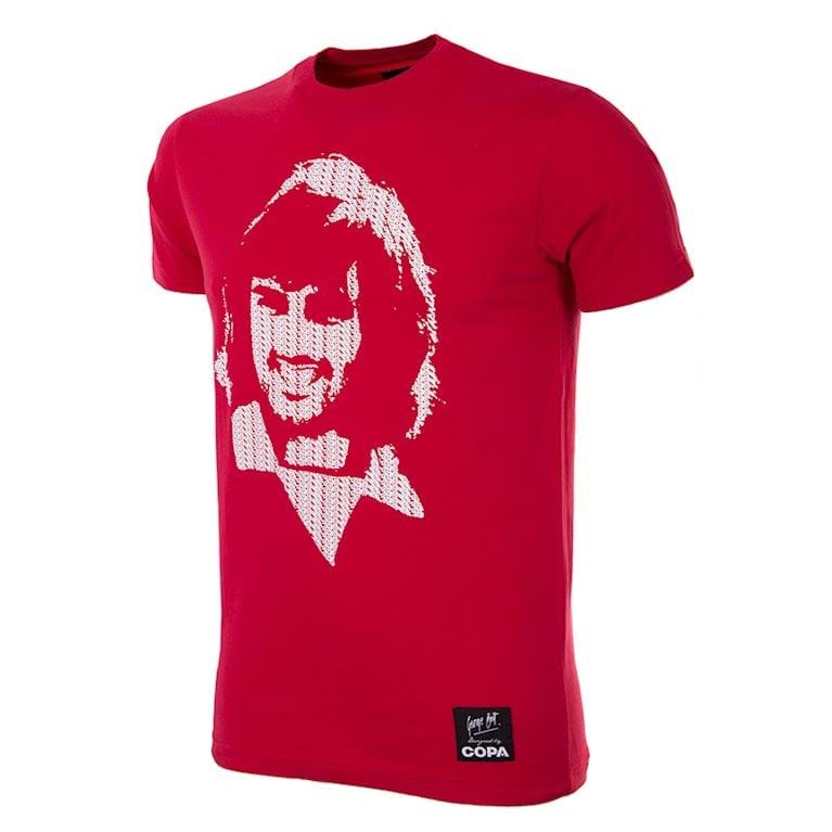 6751 | George Best Repeat Logo T-Shirt | 1 | COPA