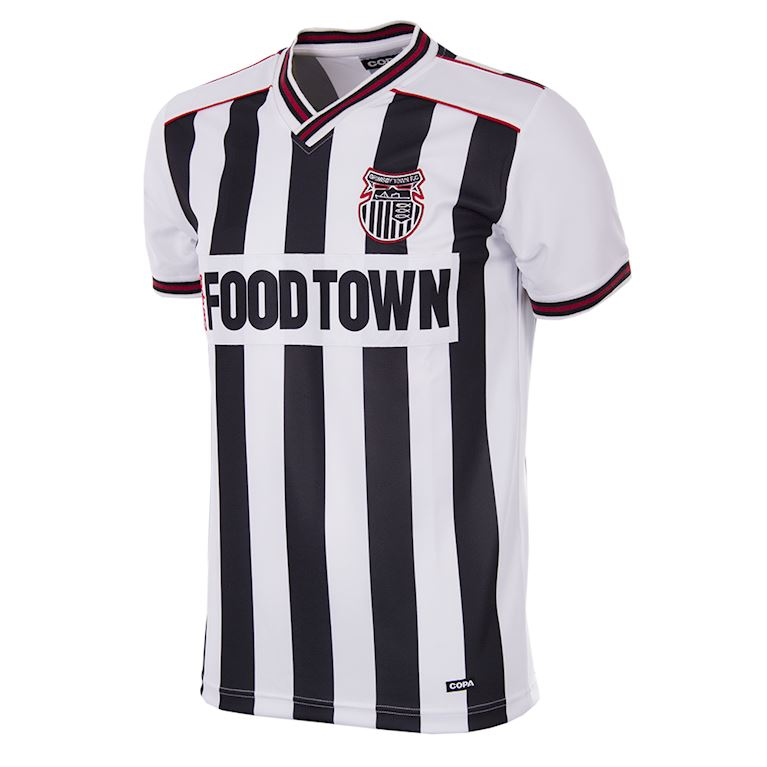 162 | Grimsby Town FC 1988 - 90 Short Sleeve Retro Football Shirt | 1 | COPA