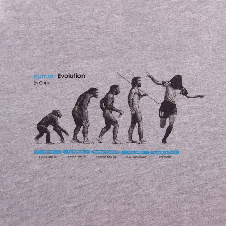 6532 | Human Evolution T-Shirt | 2 | COPA