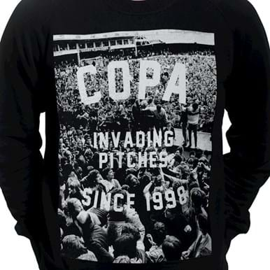 6455 | Invading Pitches Since 1998 Sweater | 2 | COPA