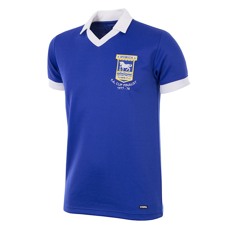 164 | Ipswich Town FC 1977 - 78 Short Sleeve Retro Football Shirt | 1 | COPA