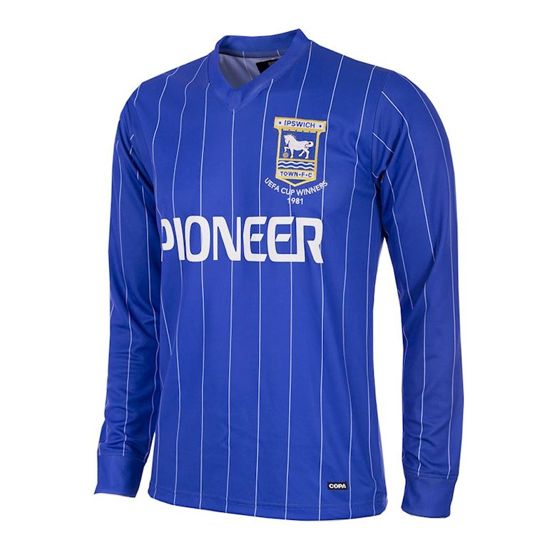 130 | Ipswich Town FC 1981 - 82 Retro Voetbal Shirt | 1 | COPA