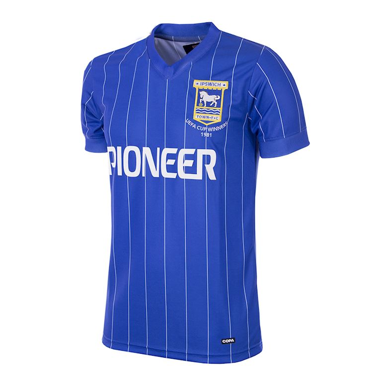 163 | Ipswich Town FC 1981 - 82 Short Sleeve Retro Football Shirt | 1 | COPA