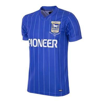 163 | Ipswich Town FC 1981 - 82 Retro Football Shirt | 1 | COPA