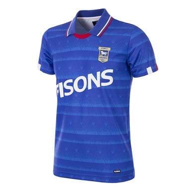 165 | Ipswich Town FC 1991 - 92 Retro Football Shirt | 1 | COPA