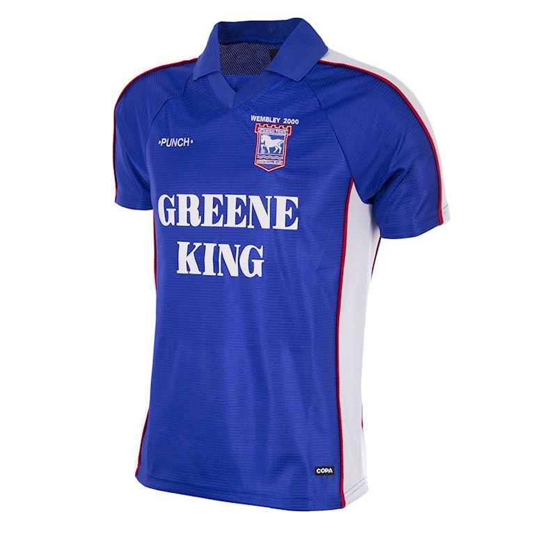 132 | Ipswich Town FC 1999 - 00 Retro Football Shirt | 1 | COPA