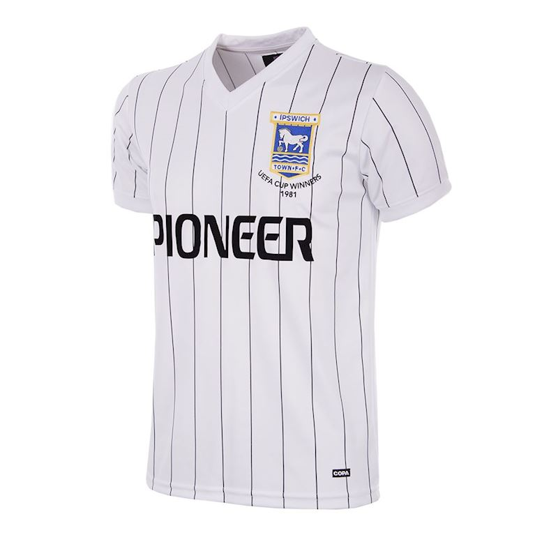 131 | Ipswich Town FC Away 1981 - 82 Retro Football Shirt | 1 | COPA