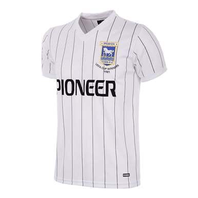 131 | Ipswich Town FC Away 1981 - 82 Retro Football Shirt | 1 | COPA