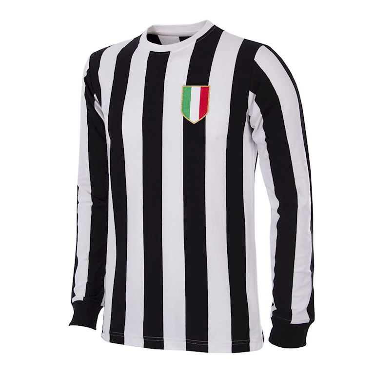 144 | Juventus FC 1951 - 52 Long Sleeve Retro Football Shirt | 1 | COPA