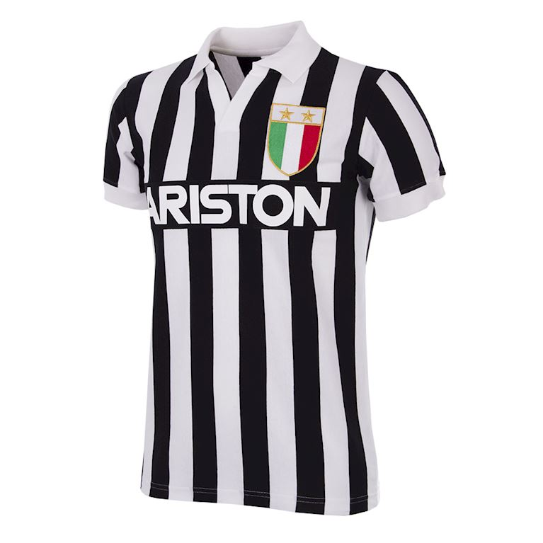 147 | Juventus FC 1984 - 85 Short Sleeve Retro Football Shirt | 1 | COPA