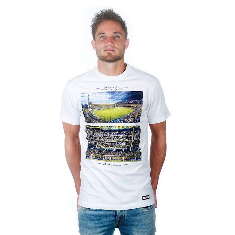 6694 | La Bombonera T-Shirt | White | 1 | COPA