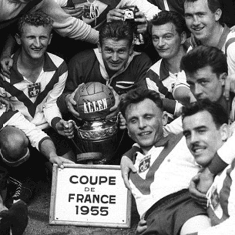 358 | Lille OSC 1954 - 55 Retro Football Shirt | 2 | COPA