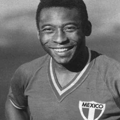 545 | Mexico Pelé 1980's Retro Football Shirt | 2 | COPA
