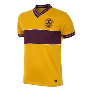 256 | Motherwell FC 1985 - 86 Retro Football Shirt | 1 | COPA