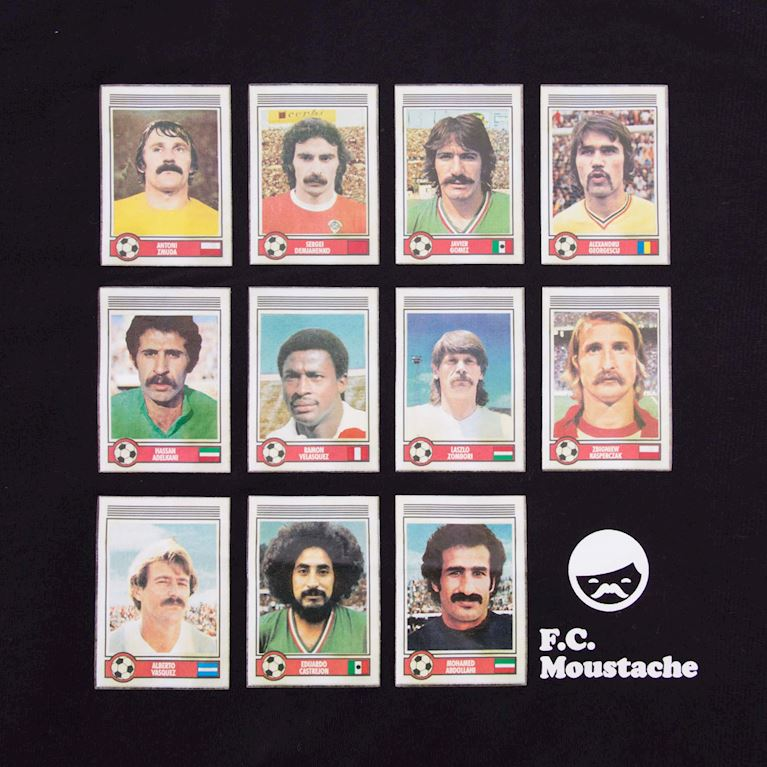 6696 | Moustache Dream Team T-Shirt | 2 | COPA