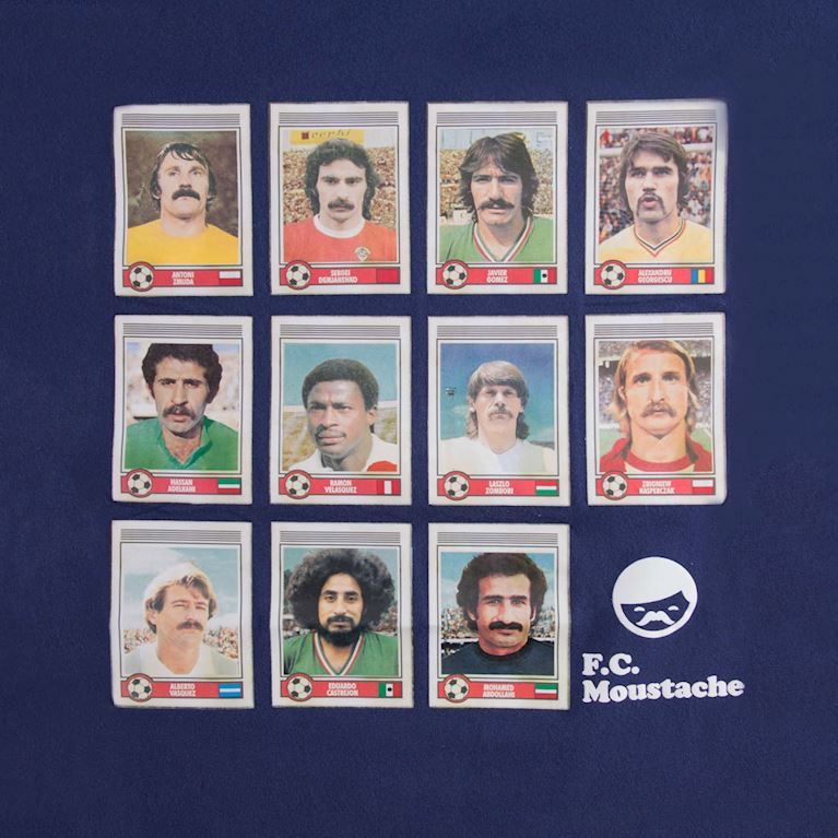 6529 | Moustache Dream Team T-Shirt | 2 | COPA